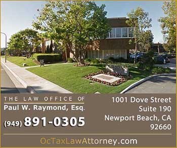Image of Orange County Tax Attorney Newport Beach CA office